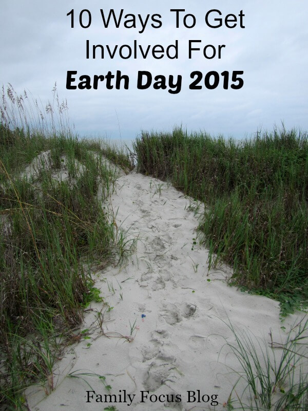 Earth Day 2015- Ways To Get Involved
