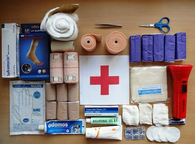 First aid and medicine essentials for minor home emergencies
